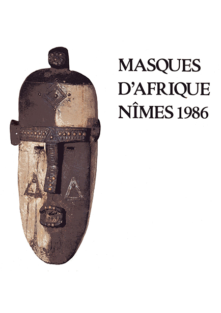 Masques d'Afrique Nïmes 1986