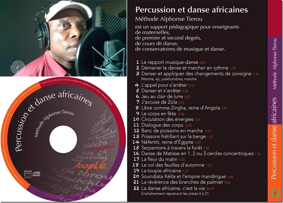 Album Percussion et Danse Africaines